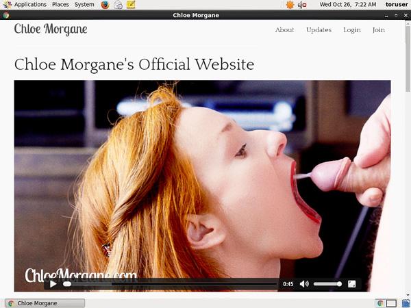How To Get A Free Chloemorgane.com Account