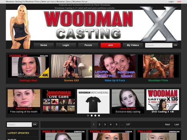 Woodman Casting X Pay Pal Account
