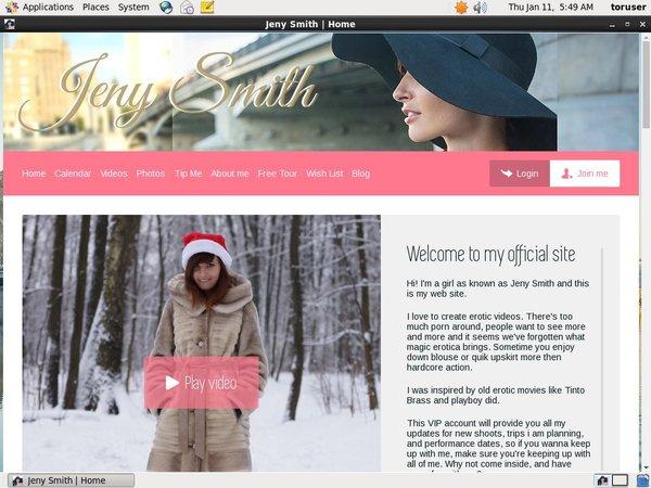 Free Jeny Smith Acounts