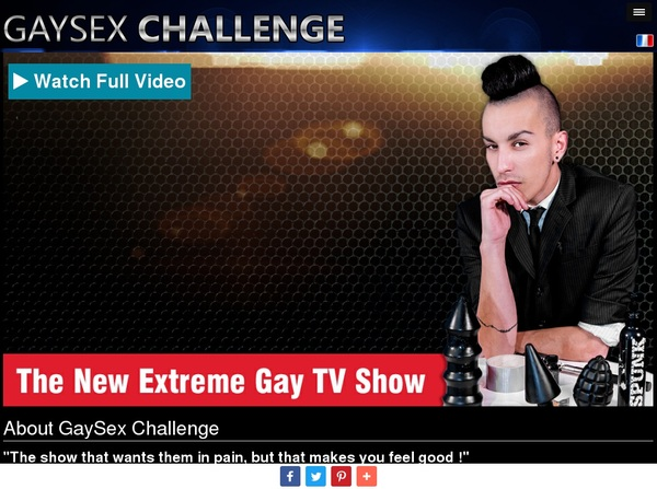 Gaysexchallenge.com Join With SMS