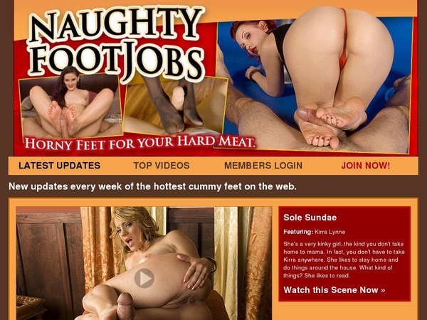 Join Naughty Foot Jobs Gift Card