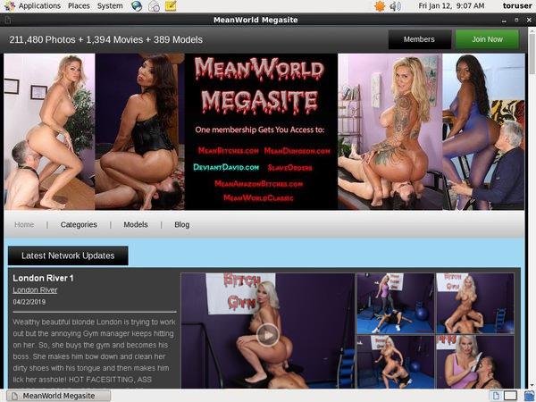 Mean World Promo Discount