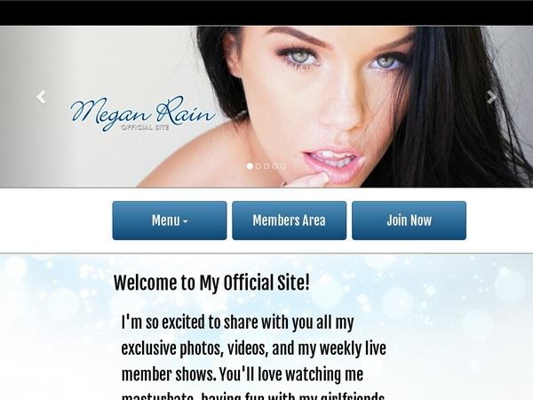 Free Megan Rain Movie