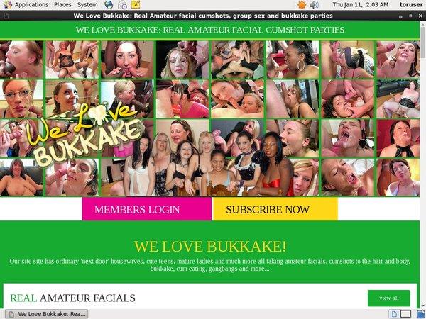Free Welovebukkake.com Code