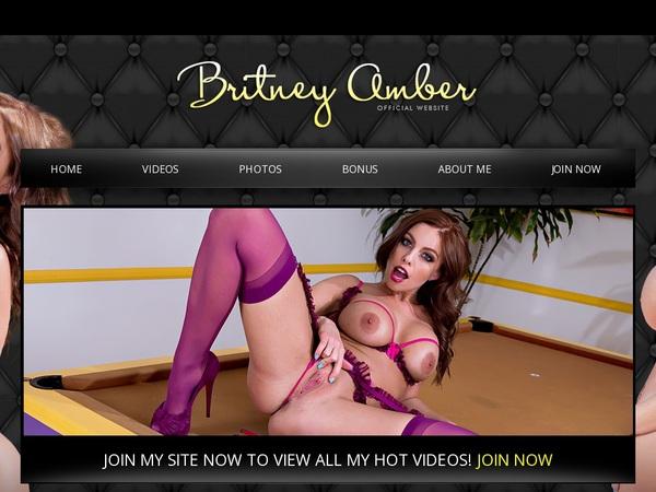 Britneyamber Receive Discount
