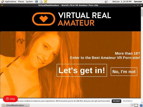 Account On Virtualrealamateurporn.com