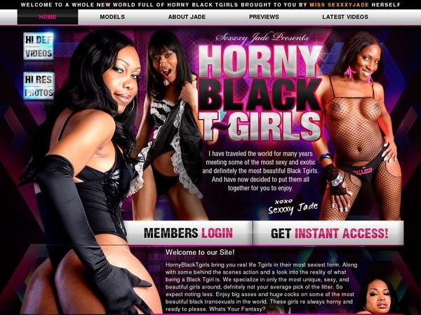 Horny Black TGirls Direct Pay