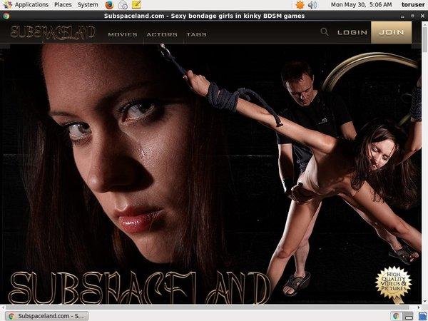 Subspaceland.com Tumblr