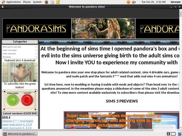 Premium Pandora Sims Site Rip