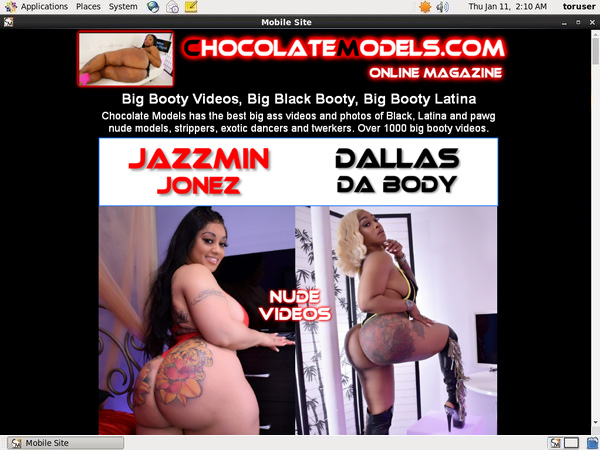 Chocolate Models Special Deal
