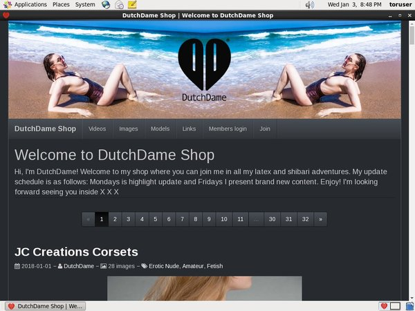 Dutch Dame Create Account